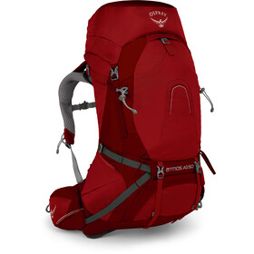 Osprey Atmos AG 50 Rugzak Heren, rigby red